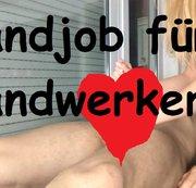 Handjob für ein Handwerker