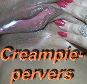 Perverser Creampie mit Mengen an Sperma!!