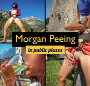 Best of - Morgan Peeing in Public Places