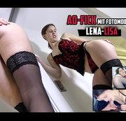 AO-Fick mit Fotomodel Lena-Lisa (EXKLUSIV)