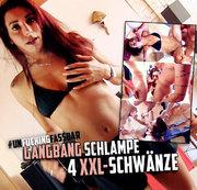 GANGBANG SCHLAMPE - Zerfickt & voll gewixxt!!
