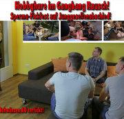 Hobbyhure im Gangbang Rausch! Sperma-Fickfest auf Junggesellenabschied!