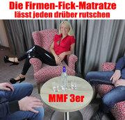 Die Firmen-Fick-Matratze lässt Jeden drüber rutschen! 3-ER MMF
