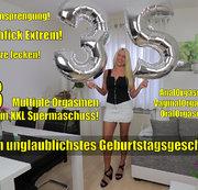 Zum Geburtstag Arschgefickt! 8 Multiple Orgasmen bis zum Mega-Sperma-Schuss!