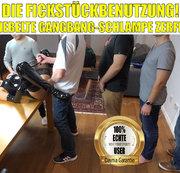 Die Fickstückbenutzung | Geknebelte Gangbang-Schlampe zerfickt!