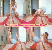 Erst zum Fitness-dann ins Bett?