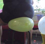 Mit meinem Arsch Ballons gepopped Teil 1