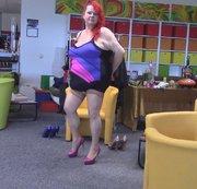 Pink Heels beim Laufen !!