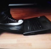 Laptop crush