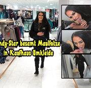 Andy-Star besamt Maulfotze in Kaufhaus Umkleide Cum