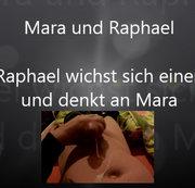 Raphael wichst sich einen