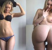 Schöne ausziehen und meinen jungen Körper zeigen