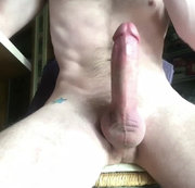 JERKING MY BIG COCK