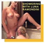 Showering with Luna Ramondini
