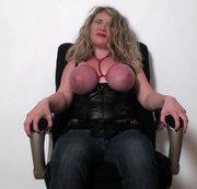 First time my tits felt the belt!
