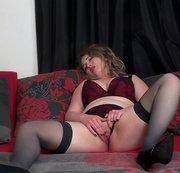 Masturbating in my new lingerie