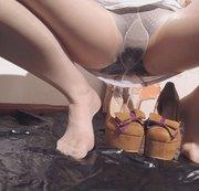 In meine Schuhe gepisst :)