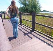 Laufsteg in der Natur...
