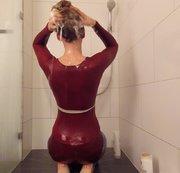 Pipi und Haarwaschen ;)
