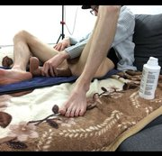 Video 074 - Maxi Trainiert mit Monsterdildo in die Tiefe Cam 2