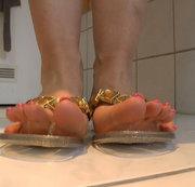 Gummi-Flip Flops