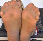 sexy Nylon-Füsse für dich