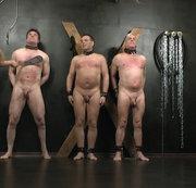 riesen Bestrafungs- Paddel für alle 3 Sklaven