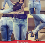 Pipi in Jeans