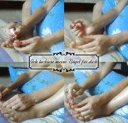 Ich lackiere meine Nägel für dich