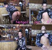 Nackt und Notgeil an der Bar!!!