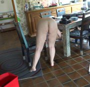 meine Sklavin bei der Hausarbeit 3.3