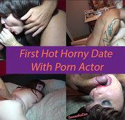 Erstes heißes geiles Date mit Pornoschauspieler