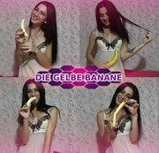 Die gelbe Banane