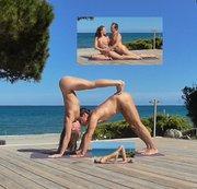 NATANUELE: Nackte Yoga zu zweit auf Korsika Teil 5 Download