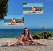 """NATANUELE: Fotoshooting """"Nacktes Yoga Natanuele auf Korsika"""" Teil 1 Download"""