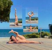"""NATANUELE: Fotoshooting """"Nacktes Yoga Natanuele auf Korsika"""" Teil 2 Download"""