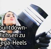 Countdown-Wichsen zu Mega-Heels