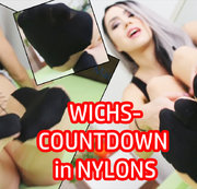 Loser-WICHSCOUNTDOWN in NYLONS