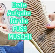 Erste Aufgabe für die FUSS-MUSCHI!