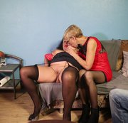 Besuch bei der spermageilen Rita und Treffen mit User titan123481