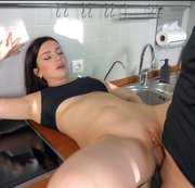 FUCKED A NEIGHBOR IN THE KITCHEN AND CUM ON FACE von LUNA ROULETTE
