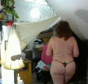 V55 Ultra long Curvy Cougar does a naughty fashion show plus more part 1