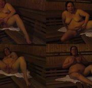 Pussy Play in der Saune