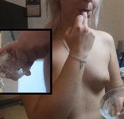 Ich esse sein Sperma! Teil 3 der Bestrafung