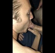 BLOWJOB WITH FACIAL AND CUM EATING
