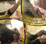 Strümpfe und High-Heels
