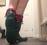 Arikajira Sexy Elf Wellies Fetish