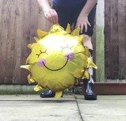 Arikajira Sun Balloon Crush Wellies BBW