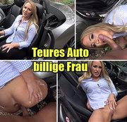 Teures Auto billige Frau