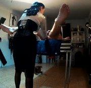 Fisting-Therapie eines Sklaven